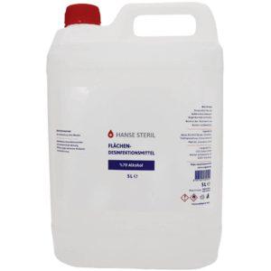 Hanse Steril Antibakteriell Handdesinfektionsmittel 5L